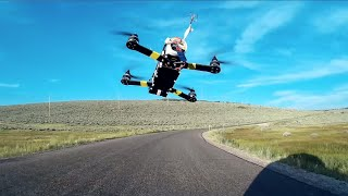 Download FPV Drone Racing from Moving Car Video