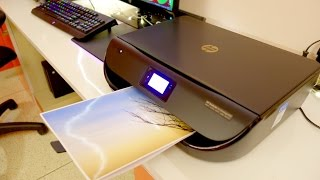 Download HP DeskJet 4535 all in one wireless printer review (unboxing setup and print quality test) Video