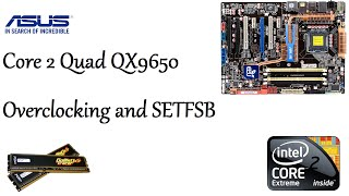 Download Intel Core 2 Quad QX9650 Extreme Overclocked to 4.2ghz on air and SETFSB Video