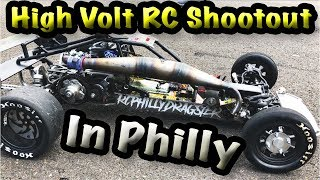 Download High Volt Rc Shootout Drag Racing In Philly (All Scales, 5th Scale Monsta!!!!) Video