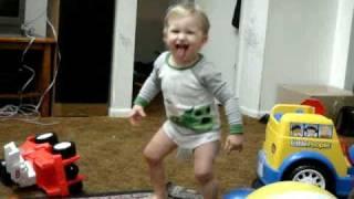 Download Thomas's wet diaper dance Video