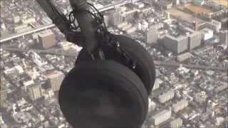 Download 高知より大阪へ、離陸から着陸まで(機窓より眺め)、ボンQに乗って(嬉)~機長アナウンス(嬉)2014,11,8 Video