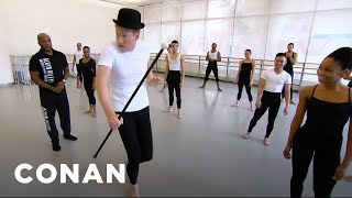 Download Conan Learns To Dance At Alvin Ailey - CONAN on TBS Video