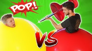 Download GIANT 6ft Balloon Battle! Video