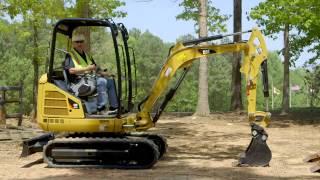 Download Cat® Mini Excavator Operating Tips: Blade Positioning Video