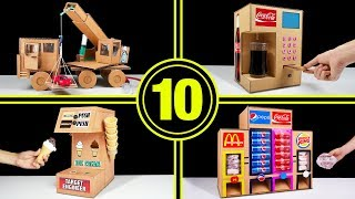 Download TOP 10 Amazing Things You Can Do at Home from Cardboard Video