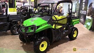 Download 2015 John Deere Gator XUV 550 Utility Vehicle - Exterior,Interior Walkaround-2014 Toronto ATV Show Video