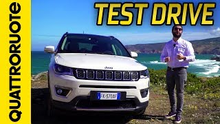 Download Jeep Compass Limited 2017: prova su strada | Quattroruote Video