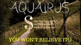 Download AQUARIUS ″YOU WON'T BELIEVE IT!″ NOVEMBER 18TH 2019 TAROT READING Video