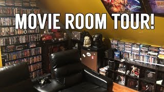 Download Entire Movie Room and Home Theater Tour! | Blu-rays, 4Ks, and More! Video