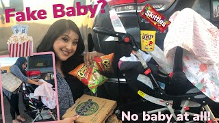 Download PRETENDING TO HAVE A BABY TO SNEAK FOOD INTO THEATER | VLOG Video