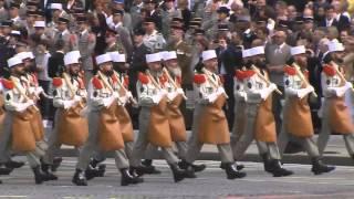 Download Légion Étrangère défilé militaire du 14 Juillet 2014 Video