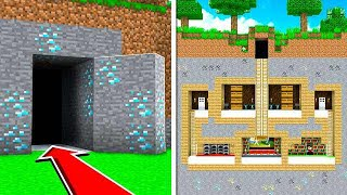 Download HOW TO BUILD A 100% HIDDEN BASE IN MINECRAFT! Video