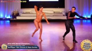 Download WSS16 Professional Salsa On2 World Champions Sanfilippo Tabo Simone & Maso Serena Video