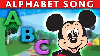 Download MICKEY MOUSE MINNIE MOUSE DONALD ABC Song Alphabet Song ABC Nursery Rhymes ABC Song for Children Video