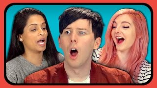 Download YouTubers React to Try to Watch This Without Laughing or Grinning #3 Video