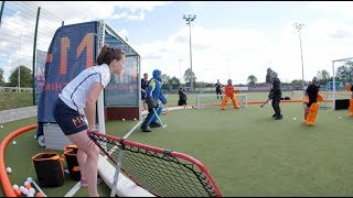 Download Crazy Catch at MH1 | Maddie Hinch's first hockey goalkeeping coaching camp Video