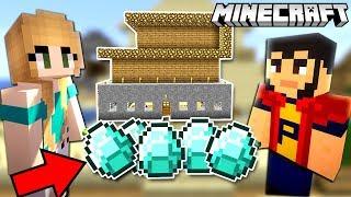Download MINECRAFT   CASA pe DIAMANTE ! Suntem BOGATI ! Video