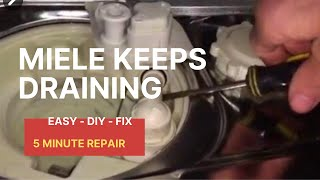 Download 🌎 Dishwasher DRAIN WON'T STOP (FIXED) 😃 Video