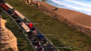 Download American Truck Simulator Multiplayer - Oxnard Traffic Jam Video