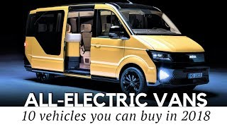 Download Top 10 Electric Vans: Cars You Should Buy for Family and Business Video