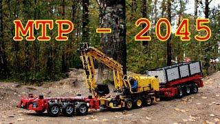 Download Lego Technic Multifunctional Truck Platform - Mercedes-Benz Future Truck 2045 Video
