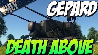 Download NO PHLY ZONE - Gepard SPAA 35mm AutoCANNONS (War Thunder Tanks) Video