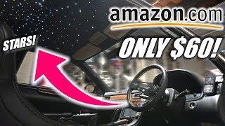 Download Installing ROLLS ROYCE Star Lights on my Bagged Soarer! ($60 AMAZON MOD) Video