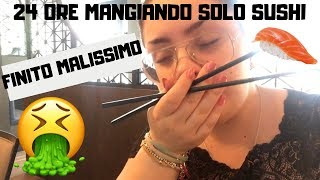 Download MANGIO SUSHI PER 24 ORE FINITO MALISSIMO (NO CLICKBAIT) Video