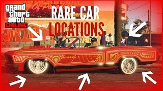 Download GTA 5 ONLINE ALL VERY RARE CAR LOCATIONS!! (RARE AND SECRET VEHICLES) ″GTA V″ Video