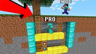 Download Minecraft Noob vs. Pro : UNDERGROUND SECRET BASE challenge - funny Minecraft battle - Florie Video