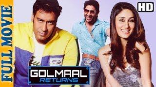 Download Golmaal Returns {HD} - Ajay Devgan - Kareena Kapoor - Arshad Warsi - Superhit Comedy Movie Video
