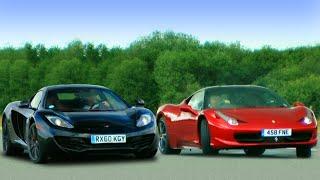 Download McLaren MP4-12c vs Ferrari 458 Italia - Fifth Gear Video