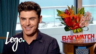 Download Will Zac Efron Be the Next Drag Race Queen? | Baywatch (2017 Movie) Video