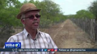 Download Brazil gov't engineering project diverts water to poor farmers Video