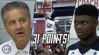 Download Zion Williamson CRAZY COMEBACK vs KJ Fitzgerald in front of Coach Calipari! Video