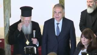 Download Patrik Bartholomeos'tan Şirince'de barış mesajı Video