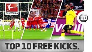 Download Top 10 Last Minute Free Kicks - Andersson, Diaz, Da Silva and More Video