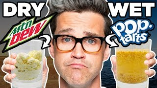 Download Wet Dry Food vs. Dry Wet Food Taste Test Video