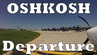 Download Oshkosh 2017 Departure - INCIDENT ON THE FIELD!!! Video