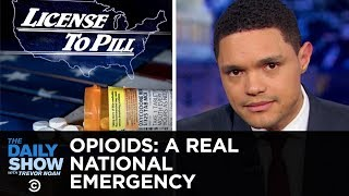 Download The Opioid Crisis: Trump Blames Mexico & Big Pharma Blames Addicts | The Daily Show Video