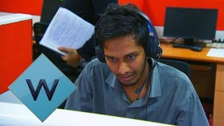 Download Staff Take A Mock Call Centre Test | Nev's Indian Call Centre | W Video
