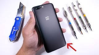 Download OnePlus 5 Durability Test! Scratch - Burn - BEND Tested Video