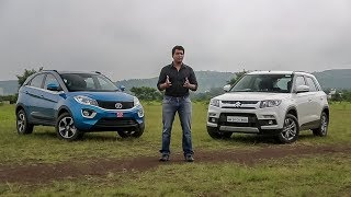 Download Tata Nexon vs Maruti Suzuki Brezza | Comparison | ZigWheels Video