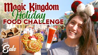 Download Ultimate Holiday Magic Kingdom Food Challenge: Trying All Of The Disney Treats Video