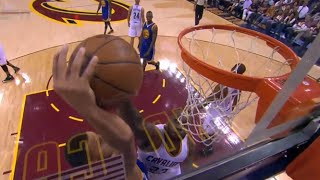 Download LeBron blocks Stephen Curry after whistle (NBA Finals Game 3) Video