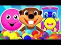 Download ″Baby Pop″ Learn Colors, Shapes, ABCs Alphabet & Nursery Rhymes | Teach Children with Busy Beavers Video