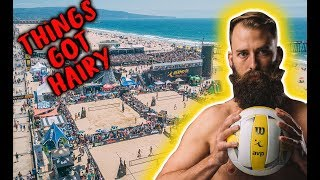 Download I got a RED CARD | AVP Hermosa Beach Volley Vlog 2018 Video
