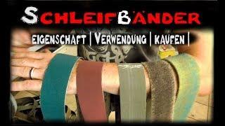 Download Schleifbänder - Eigneschaft, Verwendung, Kaufen Messerbau Messer bauen Video