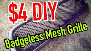 Download How to make your own Mesh grille / badge less grill - $4 DIY - Dirtcheapdaily : Ep.19 Video